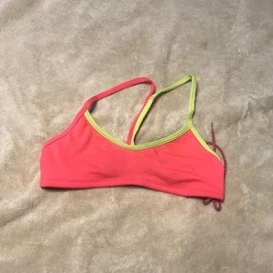 Jolyn Fixed Back Pink and Yellow Top